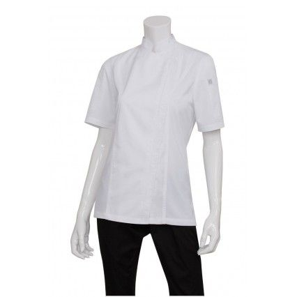 Chef Works Springfield Womens White JacketChef Works,Cooks Plus