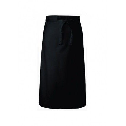 Chef Works Bar Apron 3/4 Black - B3 Chef Works,Cooks Plus