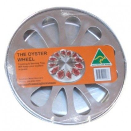 Oyster Wheel 12 Hole with traySouthern Metal Spinners,Cooks Plus