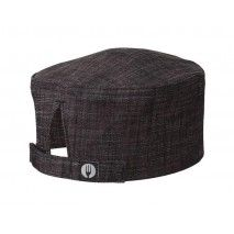 Chef Works Corvallis Burgundy Crosshatch Beanie - HBXX012Chef