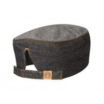 Chef Works Manhattan Black Denim Beanie - HB004-BLKChef