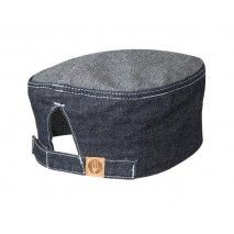 Chef Works Manhattan Blue Denim Beanie - HB004-IBLChef