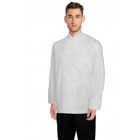 Chef Works Milan White 100% Cotton Chef Jacket Chef Works,Cooks