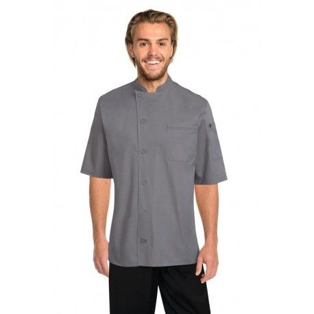 Chef Works Valais Grey V-Series Chef Jacket Chef Works,Cooks