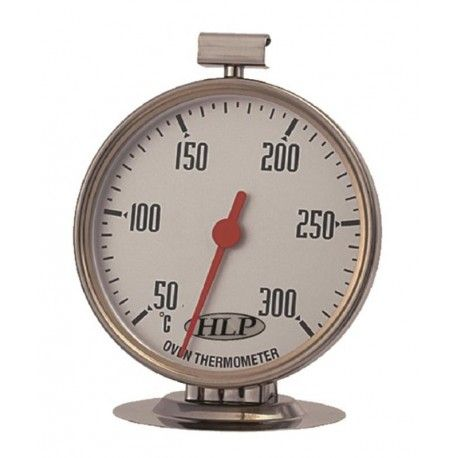 HLP Oven Thermometer Stainless Steel 300°CHLP Controls,Cooks