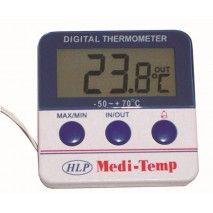 HLP Medi Temp Dual Thermometer DigitalHLP Controls,Cooks Plus