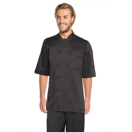 Chef Works Chambery Black Chef Jacket - BLSS Chef Works,Cooks