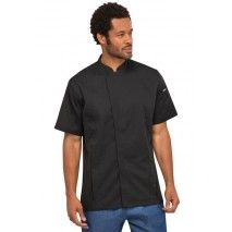 Chef Works Bristol Black Chef Jacket Chef Works,Cooks Plus