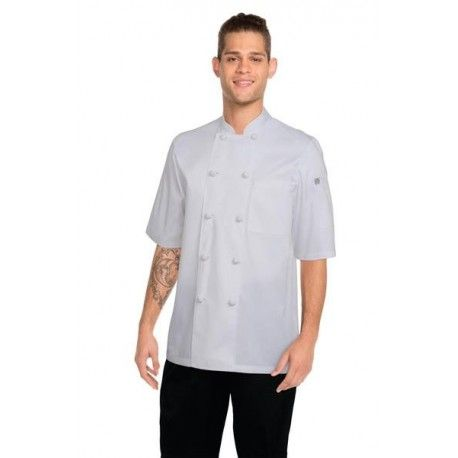 Chef Works Tivoli White Chef Jacket - KNSS Chef Works,Cooks Plus
