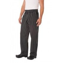 Chef Works Chalkstripe Baggy Chef Pants - GSBPChef Works,Cooks