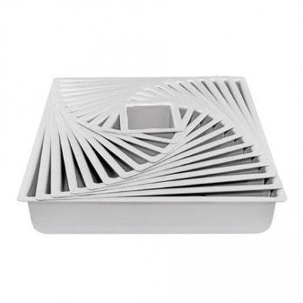 Mondo Pro Square Cake Pan 4in / 10x7.5cmMondo,Cooks Plus