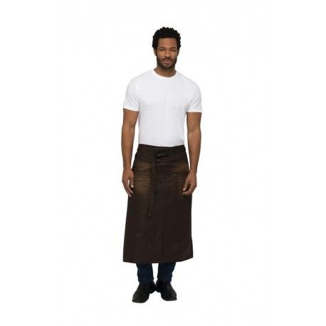 Chef Works Galveston Chocolate 3/4 Apron