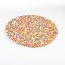 Mondo Cake Board Sprinkles 14''/35cm K-Ware,Cooks Plus