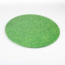 Mondo Cake Board Grass 8''/20cm K-Ware,Cooks Plus