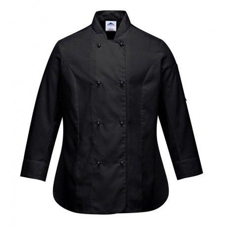 Portwest Rachel Ladies Chef Jacket C837 Portwest,Cooks Plus