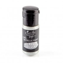 Over The Top Edible Light Silver Art Paint 15ml K-Ware,Cooks